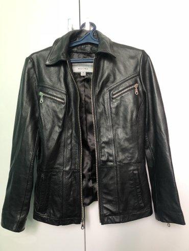 Женская кожаная куртка, приобретенная в Бишкек
