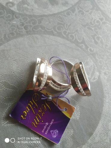 серебряные обручальные кольца бишкек in Кыргызстан   ГРУЗОВЫЕ ПЕРЕВОЗКИ: Серебро сзолотом 925 Новый Кольцо 19р