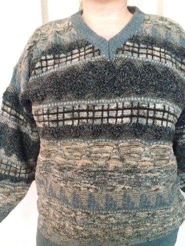Пуловер турецкий, теплый красивый, разм 52-54 в Бишкек