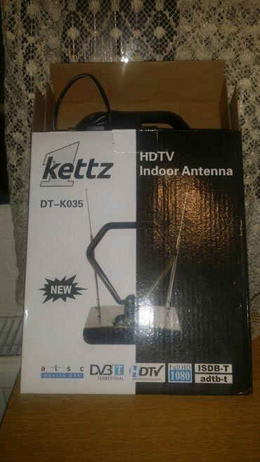 Prodajem potpuno novu sobnu antenu sa potenciometrom za pojačavanje