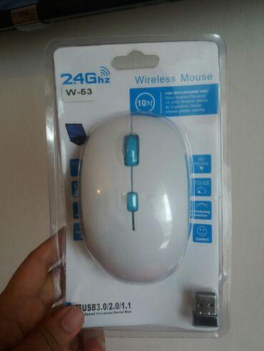мышка-бишкек в Кыргызстан: Мышка Беспроводная НОВАЯ!! Компьютерные мыши