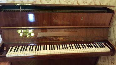 Musiqi alətləri - Azərbaycan: Piano.1969. German. Koklenmis.  Пианино 1969. Германия. Настроенный