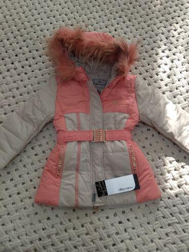 Продам зимнюю куртку на девочку, 4-5 лет. Абсолютно новая