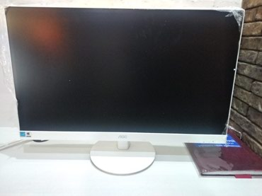 Монитор 27 дюйм, AOC 27, vga, dvi teg: monitor, aoc, в Бишкек