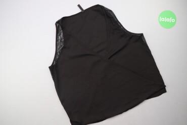 Жіноча блуза на запах з мереживом MNG, р. L   Довжина: 59 см Напівобхв