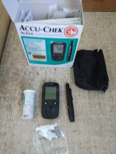 Глюкометр, для определения сахара крови. Новый. В комплекте все есть