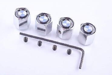 Din kaput - Srbija: Kapice za ventile sa inbus kljucem protiv kradje. Komplet set (4 kom)