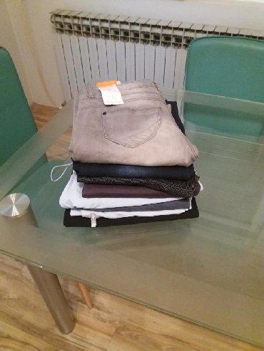 Bele sa farmerice - Srbija: RASPRODAJA. PAKET od 8 pari zenskih pantalona ( pantalone i