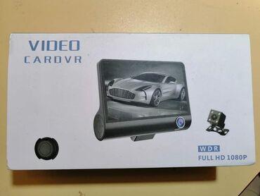 Za auto - Srbija: 5350dinTri auto kamere u kompletu, DVRprednja, unutrasnja i