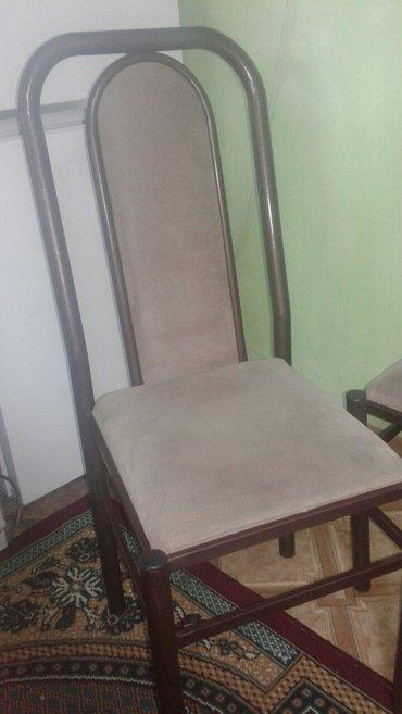 Железные стулья, очень прочные, 6 штук. цена за каждые