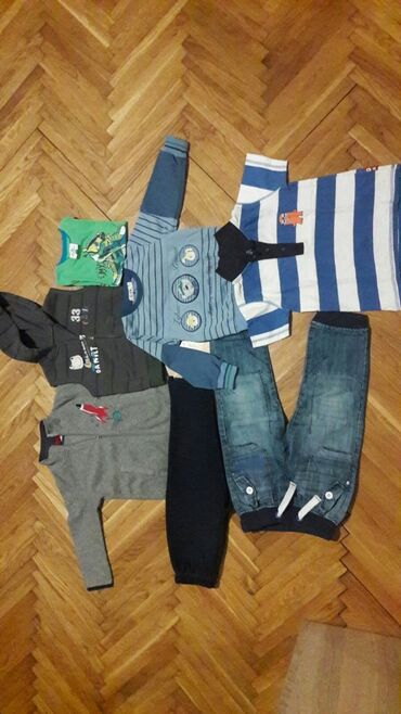 Paket odeće - Sivac: Paket za dečake Vel 98 do 3 god