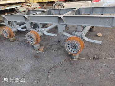 199 объявлений: Продается рама и мосты саф полуприцепа schmitz skо 24 2010 года