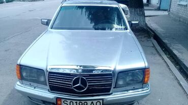 Mercedes-Benz в Кыргызстан: Mercedes-Benz S 300 3 л. 1983 | 2 км