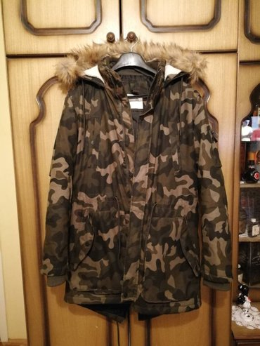 """Zimska jakna """"bershka""""  nova jakna,nosena par puta,velicina l - Novi Knezevac"""