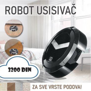 ROBOT USISIVAČ✔Pametni senzori koji zaobilaze sve prepreke!✔Može