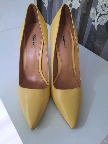 Туфли «mascotte » 39 размер в хорошем состоянии, высота каблука 12