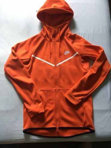 Nike duksevi - Srbija: Nike tech fleece orange