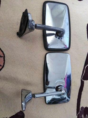 Оригинальные зеркала на автр ВАЗ СССР для ценителей чито хром,,цена за