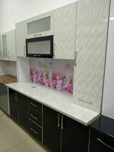 Кухня 2 метра из корейского акрила в Бишкек