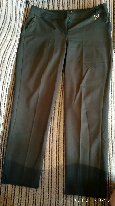женские брюки классика в Кыргызстан: Брюки классика, производство Турция, в идеальнейшем состояни, надевала