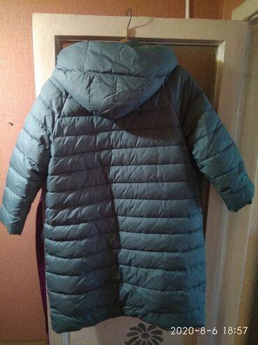 Куртки - Кыргызстан: Продаю пуховик женский, очень теплый, уютный. Редкого красивого цвета