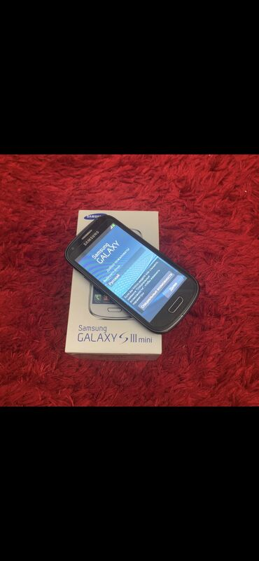 Электроника в Нахичевань: Б/у Samsung Galaxy S3 Mini 8 ГБ Черный