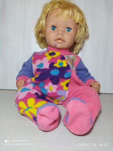 Кукла беби в хорошем состоянии Немного испачкана черниламиВолос