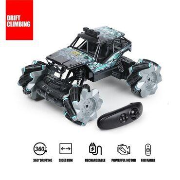 Oyuncaq avtomobilPultlu dəli MONSTER maşın. Yeni nəsil pultla idarə