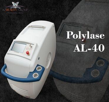 - Azərbaycan: Lazer epilyasiya aparatiPolylase AL40Dalğa uzunluğu Aleksandrit