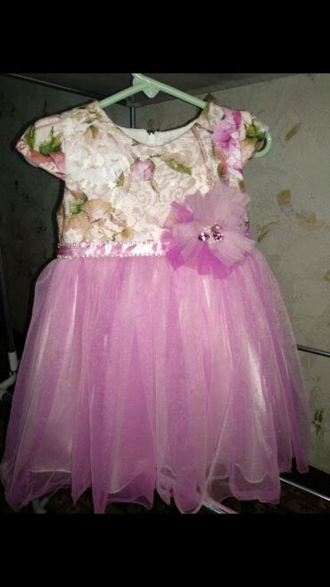 Продам красивое Турецкое платье в хорошем состоянии на малышку 18-24