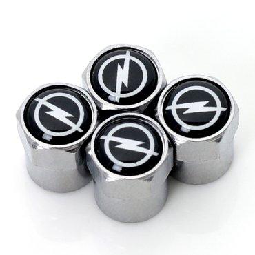 Univerzalne metalne ventil kapice sa logom OPEL - Zrenjanin