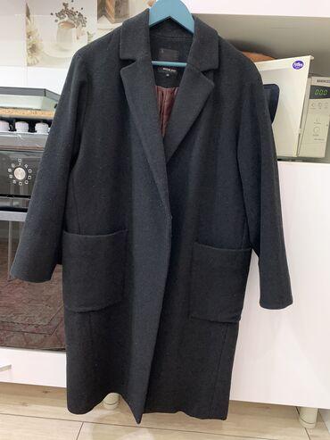 Пальто очень стильное, оверсайз, м-л, или даже на хл подойдёт, теплое