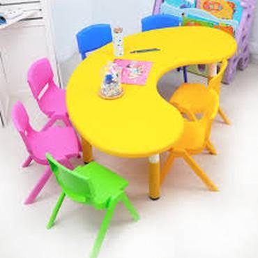 Пластиковый стол на заказ.Стол в виде в Бишкек