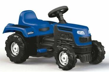 Anatomski ranac - Crvenka: Dolu Ranchero Traktor na pedale - Plavi Traktor je proizveden od