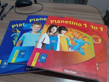 Детский учебник по немецкому языку PLANETINO ОРИГИНАЛ, не