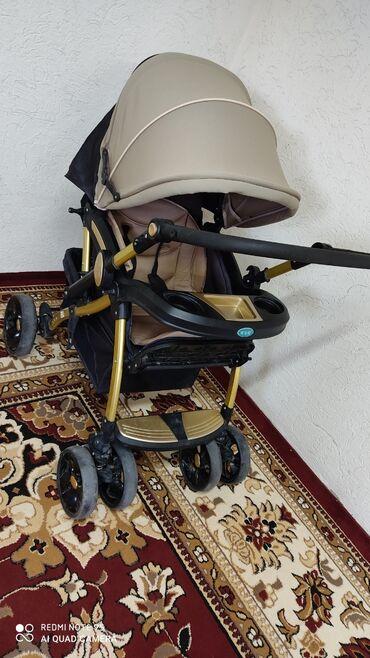 Детский мир - Кок-Ой: Продаю коляску б/у в подарок ходунок