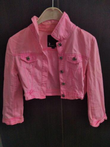 1148 oglasa: Tally Weijl Neon Pink, teksas jaknica. Uzeta sa sajta, nazalost