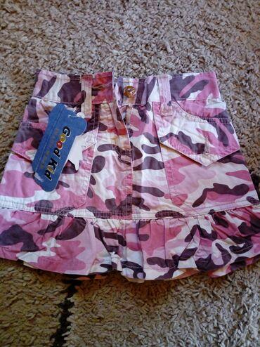Dečija odeća i obuća | Pancevo: Suknja za devojcice,NOVA,vel.6