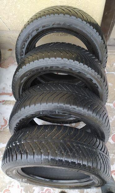 шини 17 60 в Кыргызстан: Шина Всесезонка.215/60/17 4-шт.Комплект.Отл состояние. Цена-100$