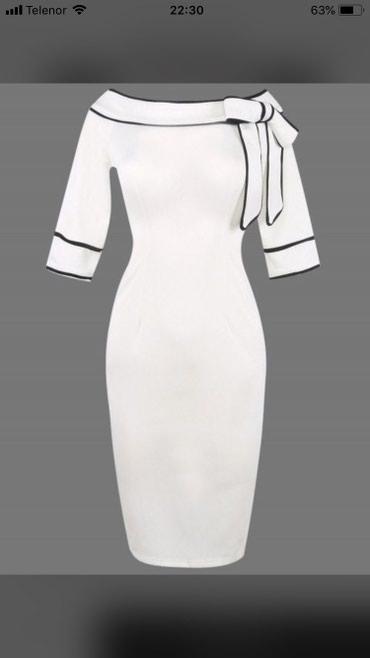 Prelepa haljina,prati liniju tela,nova - Odzaci