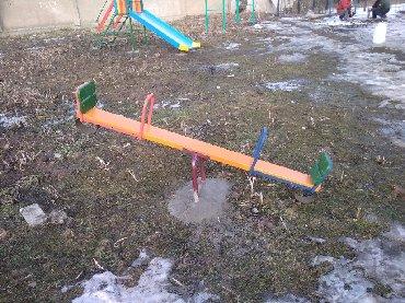 деревянные игрушки буратино в Кыргызстан: Детские качели-балансир! Изготавливаем как стационарные, так и