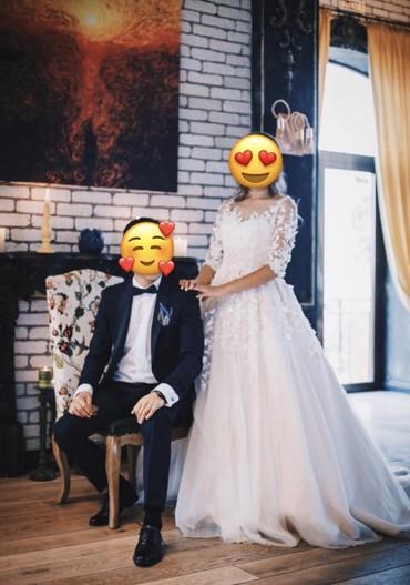 свадебные украшения в Кыргызстан: Очень красивое свадебное платье Sasha от Nora Naviano! На прокат или