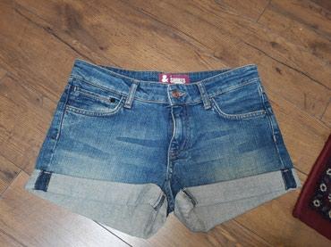 Ženska odeća | Kosovska Mitrovica: Sorts teksas vel.27 bez elastina,nov predivan