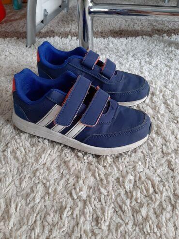 Adidas super s - Srbija: Original plave adidas patike za decaka br 30 ugg 18cm. Nosene ali u