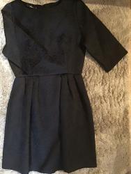 Mala svečana crna haljinica. Nova - Crvenka