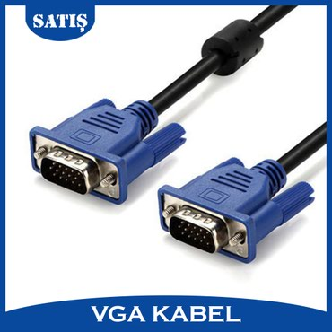 Sumqayıt şəhərində VGA kabel. Uzunluğu 1.83m.  WhatsApp aktivdir