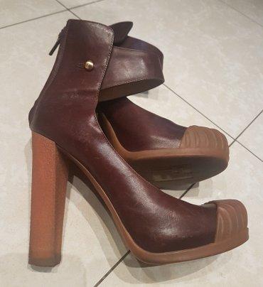 Fendi original vrhunske cipele na stiklu. Braon kozne 37-38 - Belgrade