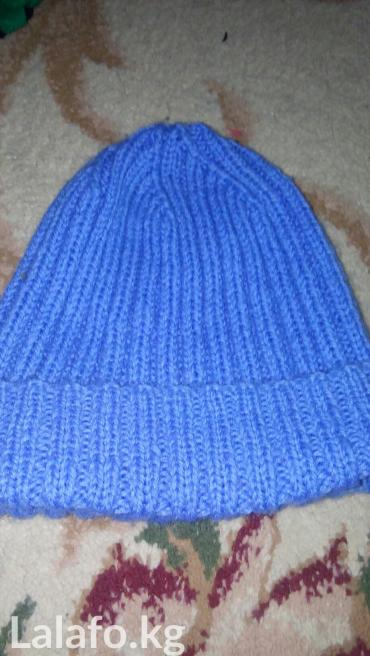 100с шапка ручная  вязка теплая в Бишкек