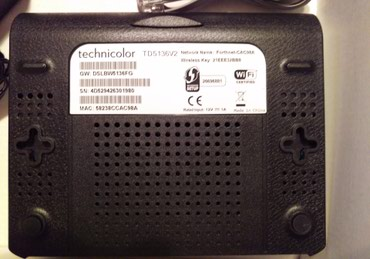 ADSL2 Modem/Router Technicolor TD1526v2 σε Λυκόβρυση - εικόνες 2
