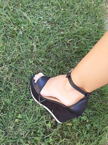 Haljina-laura-kent - Srbija: PRODATOMARKIRANE kozne sandale br.37LAURA SCOTT sandale kao nove,ima